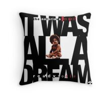 It was all a Dream - Cloud Nine [White] Throw Pillow