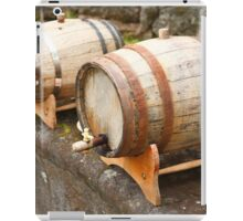 Wine barrels iPad Case/Skin