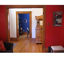 Three Colourful Rooms Photographic Print