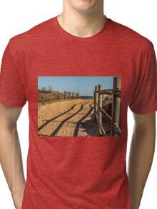 Sandy Footprints Tri-blend T-Shirt