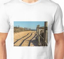 Sandy Footprints Unisex T-Shirt