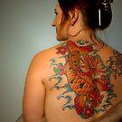 Koi Tattoo by Tony Lomas