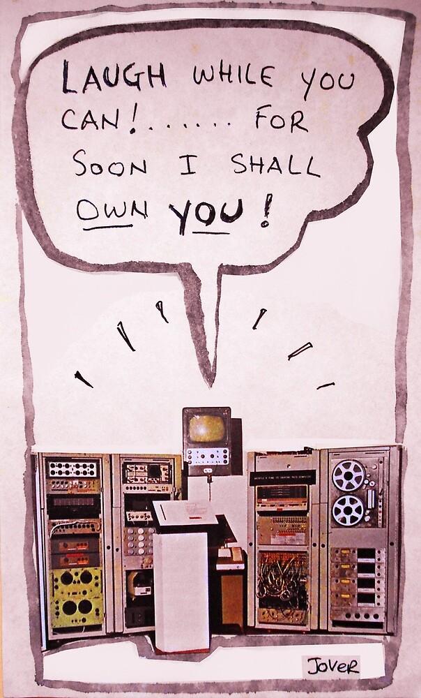 computer menace (ludite prediction) by Loui  Jover