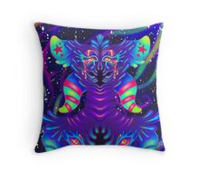 Alien Candy Throw Pillow