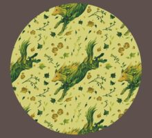 Fern Hound Pattern Kids Clothes