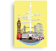 Welcome To London Canvas Print