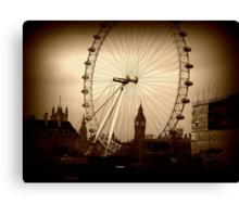 Through the eye of London. Canvas Print