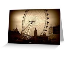 Through the eye of London. Greeting Card