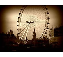 Through the eye of London. Photographic Print