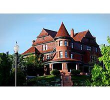 The McCuran Mansion built in 1901 ~ Salt Lake City  USA  Photographic Print