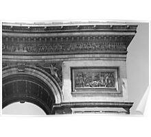 Arc de Triomphe Detail II Poster