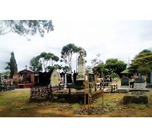 Werribee Cemetery Photographic Print