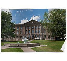 Johnstown District Courthouse and Gaol Poster