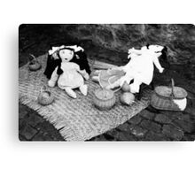 Rag dolls Canvas Print