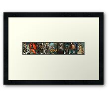 Dragon Age Inquisition Companion Tarot Cards Framed Print