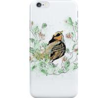 Floral Bird iPhone Case/Skin