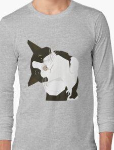 Hello Cat Long Sleeve T-Shirt