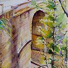 Lennox Bridge Blue Mountains Sydney by Christine Lacreole