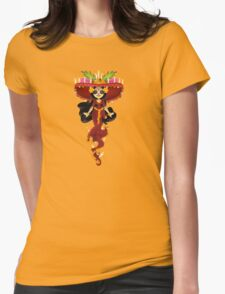 Cute La Muerte  Womens Fitted T-Shirt