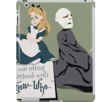 You Know Who iPad Case/Skin