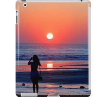 Sunset Photographer iPad Case/Skin