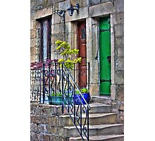 Country cottages Photographic Print