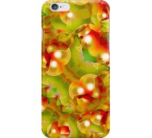 Christmas Texture Motif iPhone Case/Skin