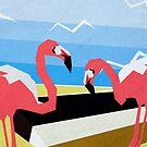 Flamingo Beach by Jessica Slater