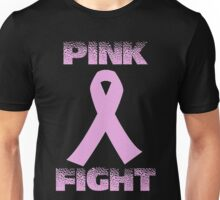 pink fight breast cancer Unisex T-Shirt
