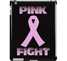 pink fight breast cancer iPad Case/Skin
