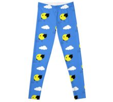 Cool chick and cloud Leggings