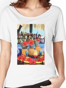Tropical colourful cocktails Women's Relaxed Fit T-Shirt
