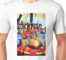 Tropical colourful cocktails Unisex T-Shirt