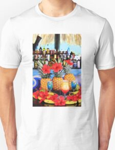 Tropical colourful cocktails T-Shirt