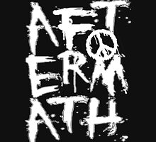 aftermath black stack ls Womens Fitted T-Shirt