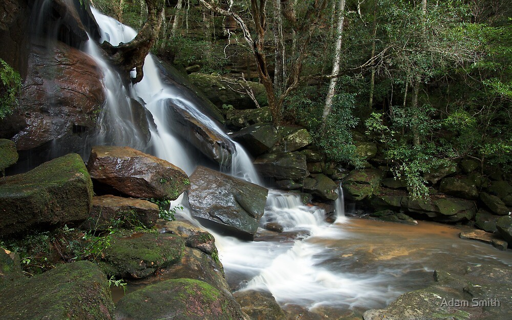 111mm - Somersby Falls, NSW by Adam Smith