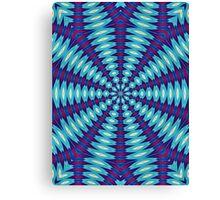 Contemporary Abstract - Circular Shape Canvas Print