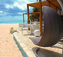Beach bar in Punta Cana by Atanas Bozhikov NASKO
