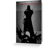 Dishonored Greeting Card