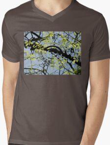 THINK OF LOVE Mens V-Neck T-Shirt