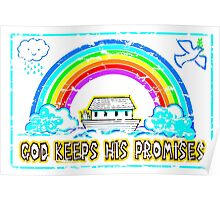 GOD KEEPS HIS PROMISES Poster
