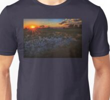 Reflecting on a Duba Plains sunset Unisex T-Shirt