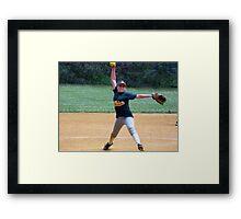 Pitcher Extraordinaire Framed Print