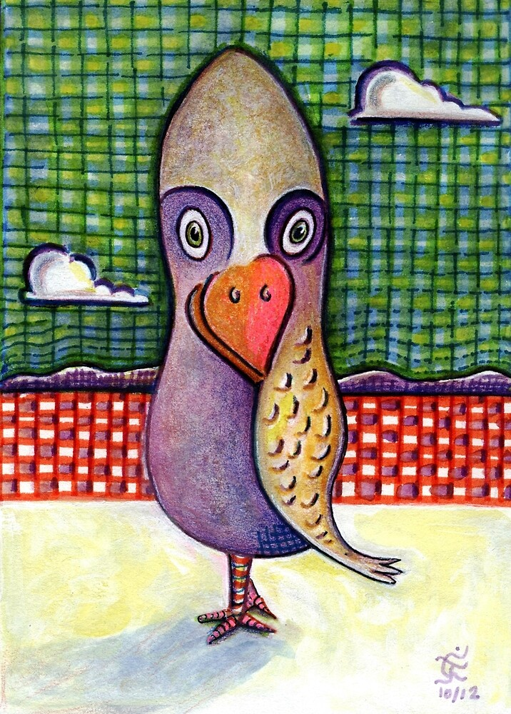 A Most Cerebral Bird by Charles  Jones