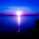 Blue Sunset by Lyndy