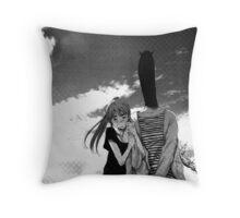 Punpun – Aiko and Punpun Throw Pillow