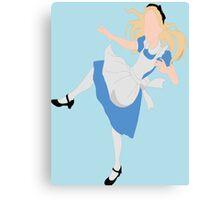Alice's Fall Canvas Print