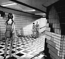 Punpun – Subway by gentlemenwalrus