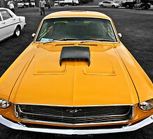 Yellow Mustang Down Under by Ferenghi