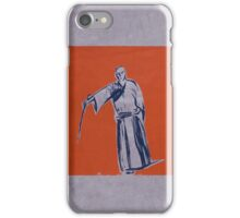 Iaido orange iPhone Case/Skin